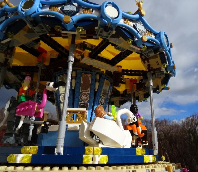 Lego Carousel 10257 The Bearded Nerd