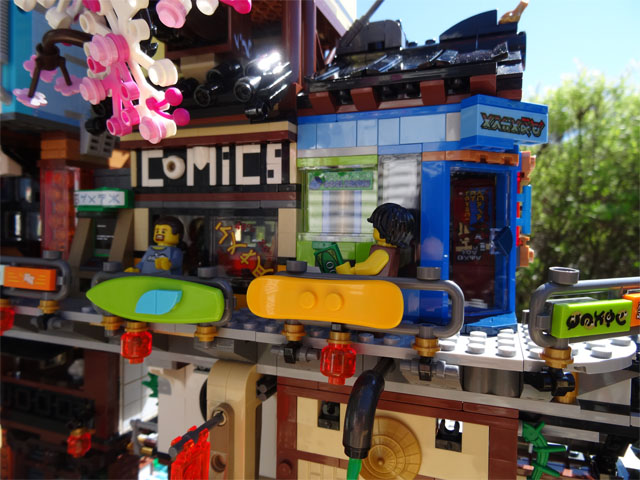 Review Of Lego Ninjago City Docks 70657 The Bearded Nerd